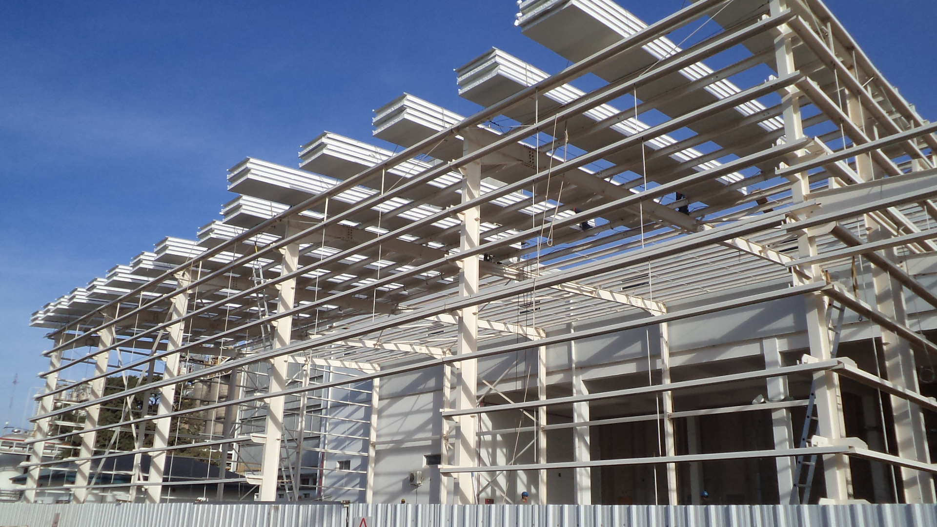 Obras constructora cocyar su proyecto nuestro compromiso - Fotos de construcciones metalicas ...